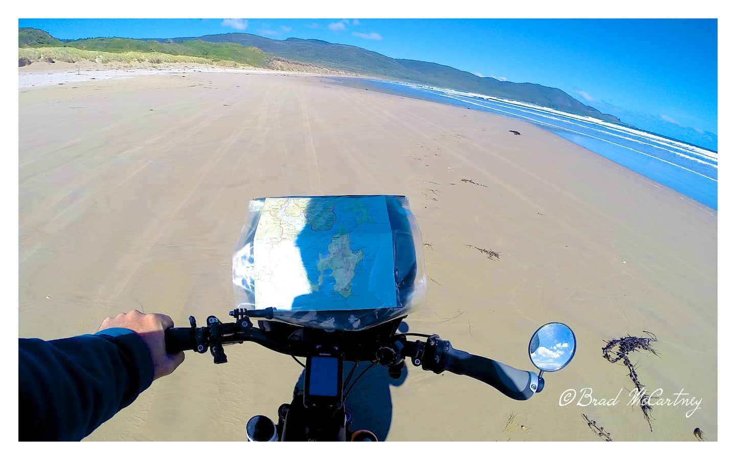 cycling bruny island