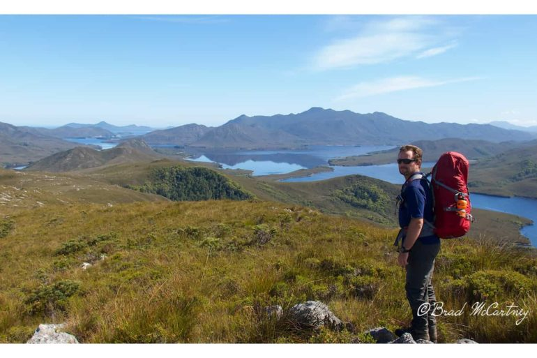 HIking Port Davey Track
