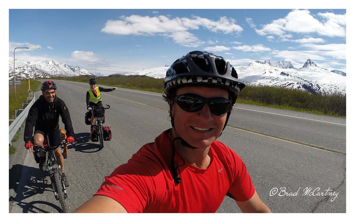 Cycling the Richardson Highway