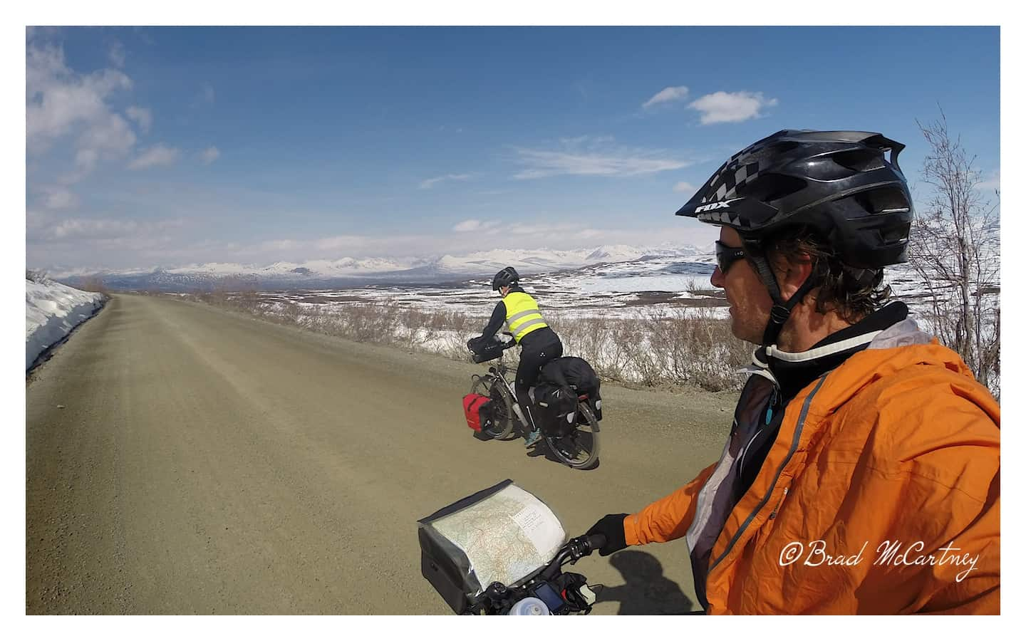 Nearing the top of the pass on the Denali Hwy