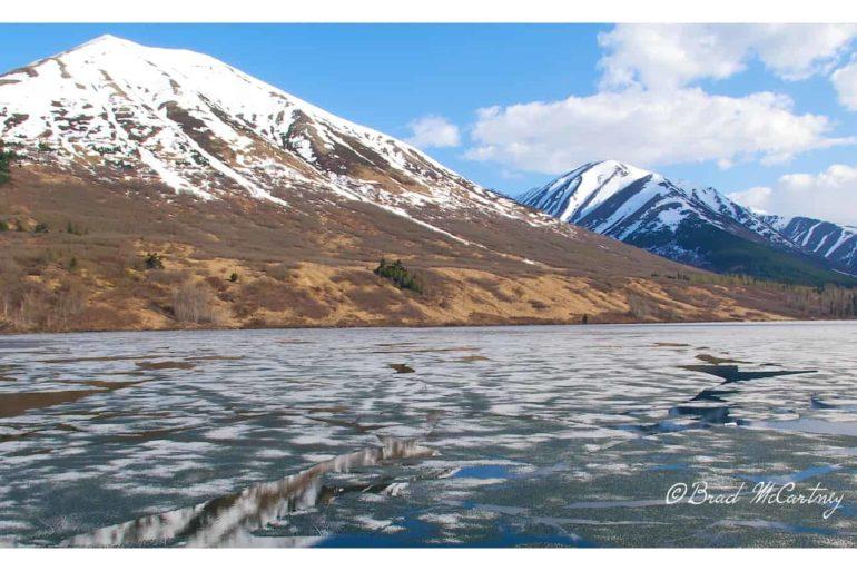 Frozen Lake, 4 days earlier