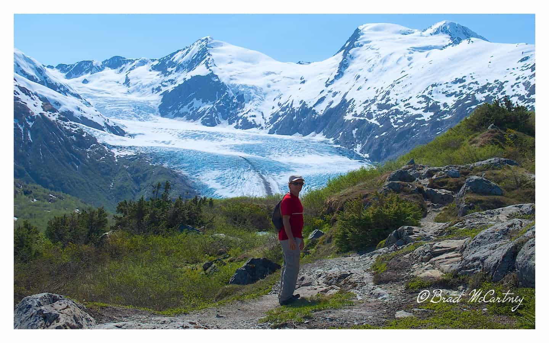 Portage Glacier hike from Whittiet