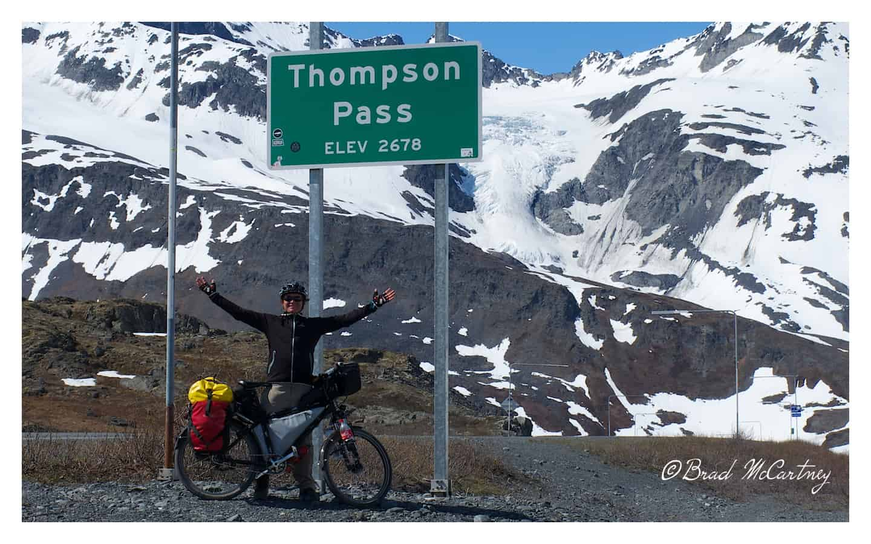 Cycling between Valdez and Paxton