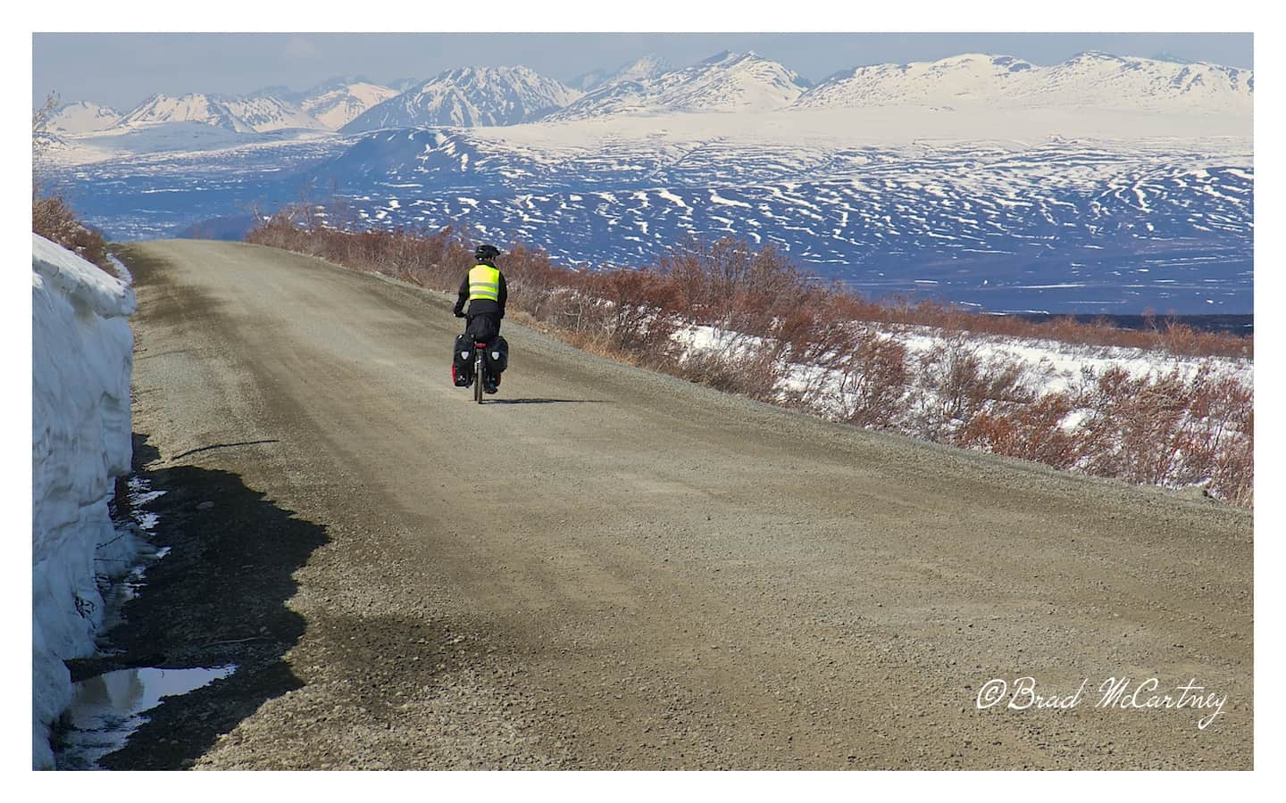 Cycling the Denali Highway