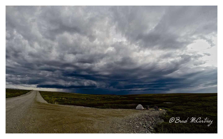 storm dalton highway