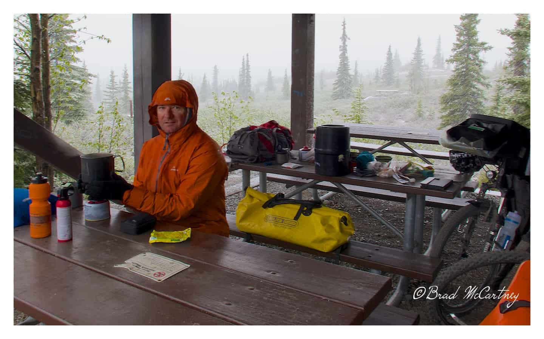 Wonder Lake campsite