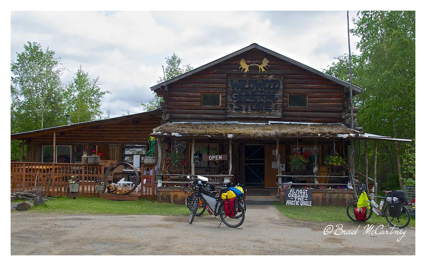 Arctic Trading Post on route