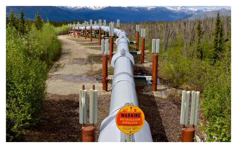 Oil pipeline alsaka