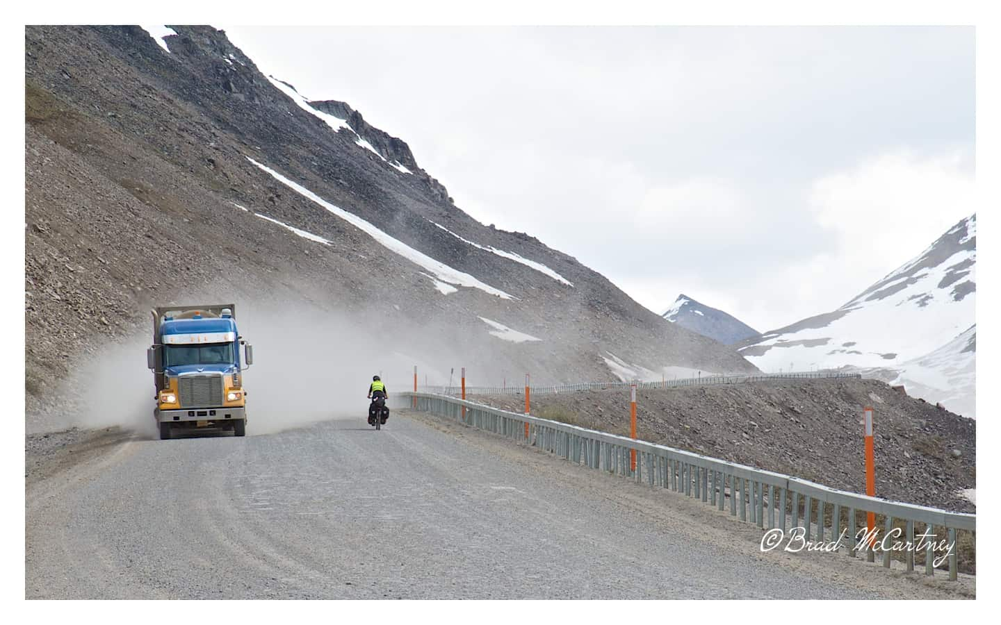 is the dalton highway dusty