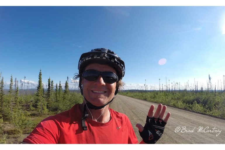 Bicycle touring canada