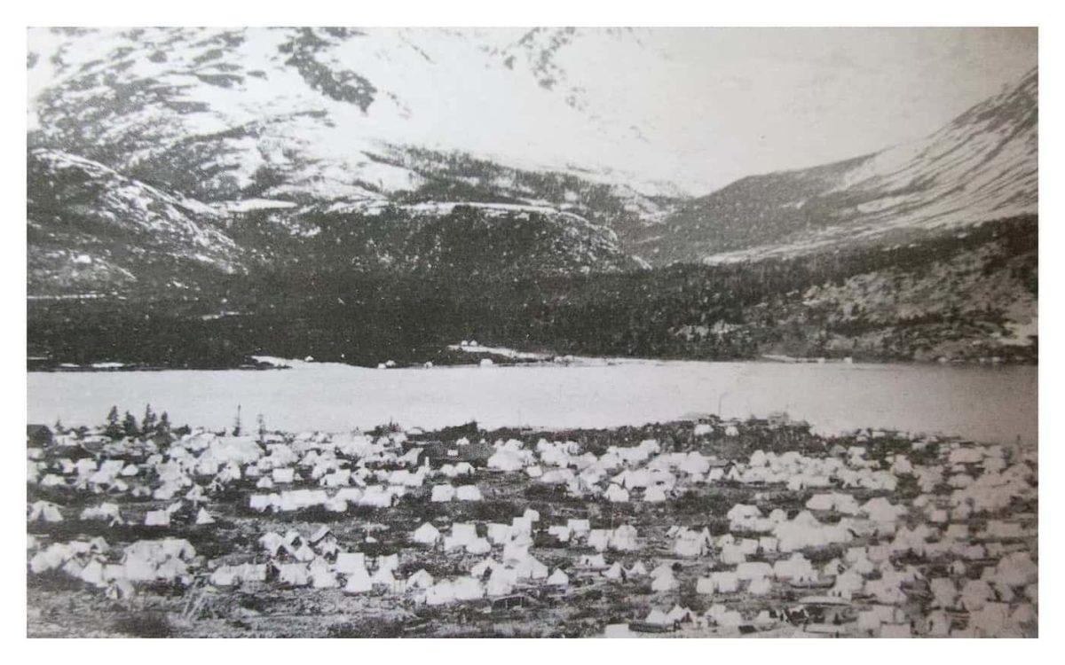 Lindeman CIty in 1898
