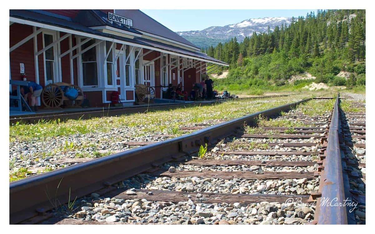 Bennett railway station