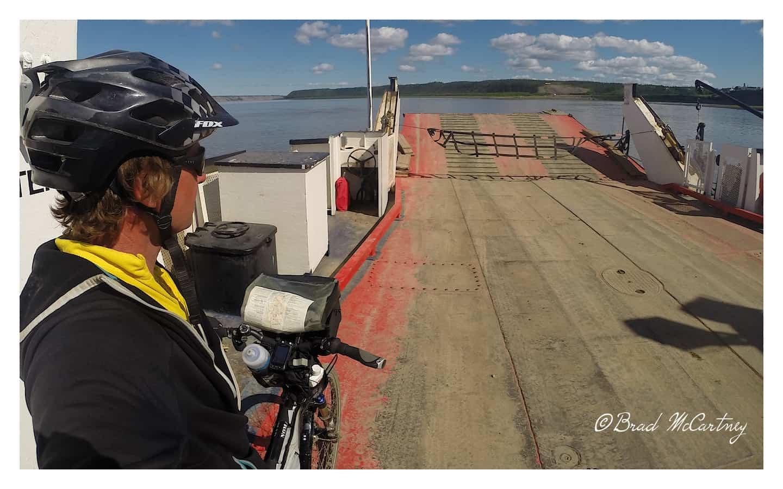 Mackenzie River ferry