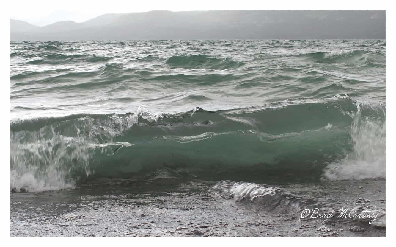 Lake Leberge storm