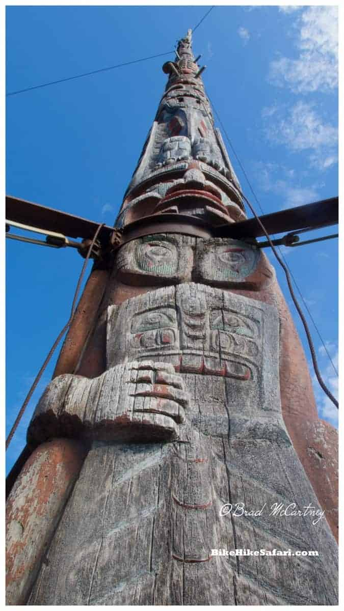 World's tallest Totem Pole, Alert Bay