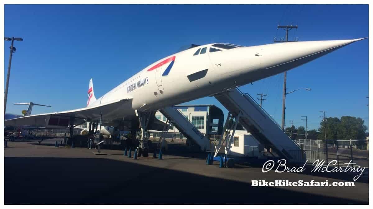 Concorde at the Flight Museum