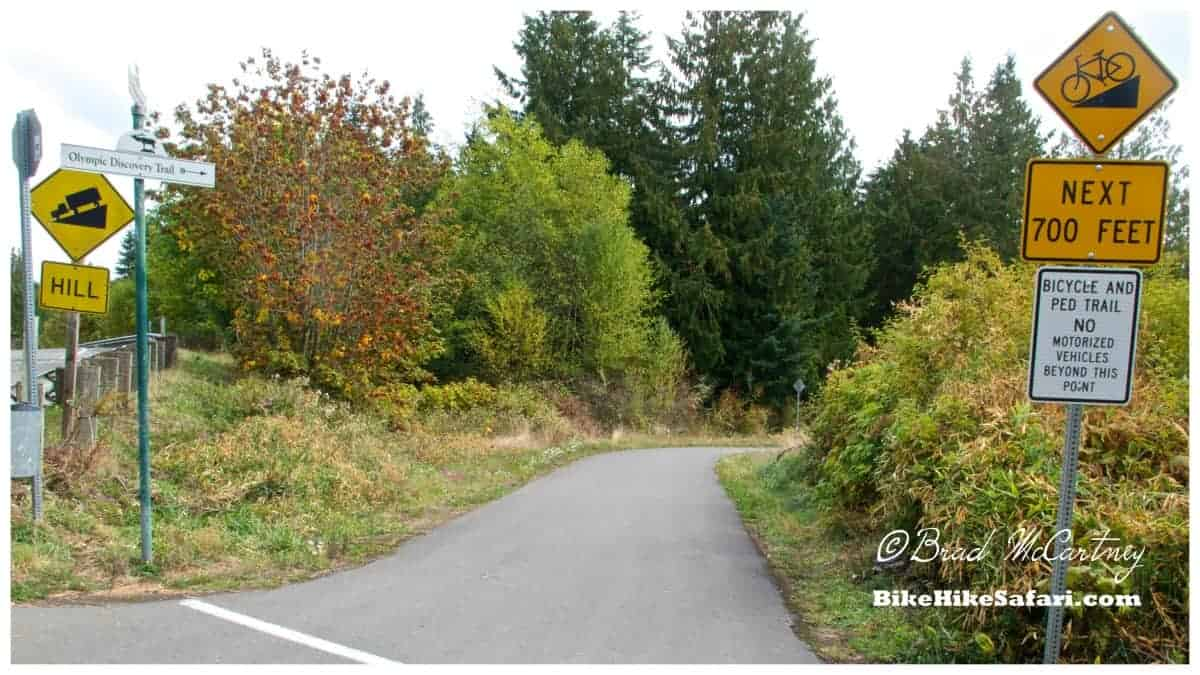 Discovery Trail on the Olympic Peninsula