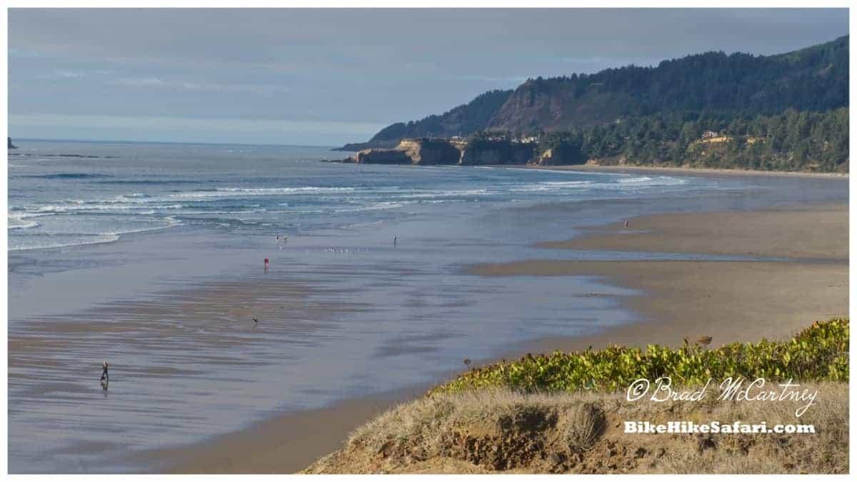 Oregon Coast Scenery near Newport
