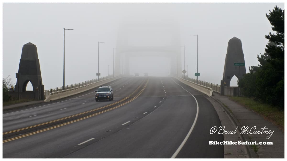 There is a Bridge under all that Fog