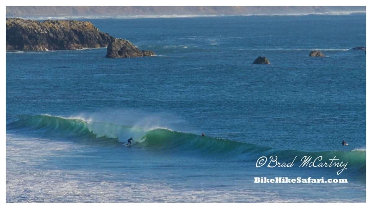Surfers at Port Orford
