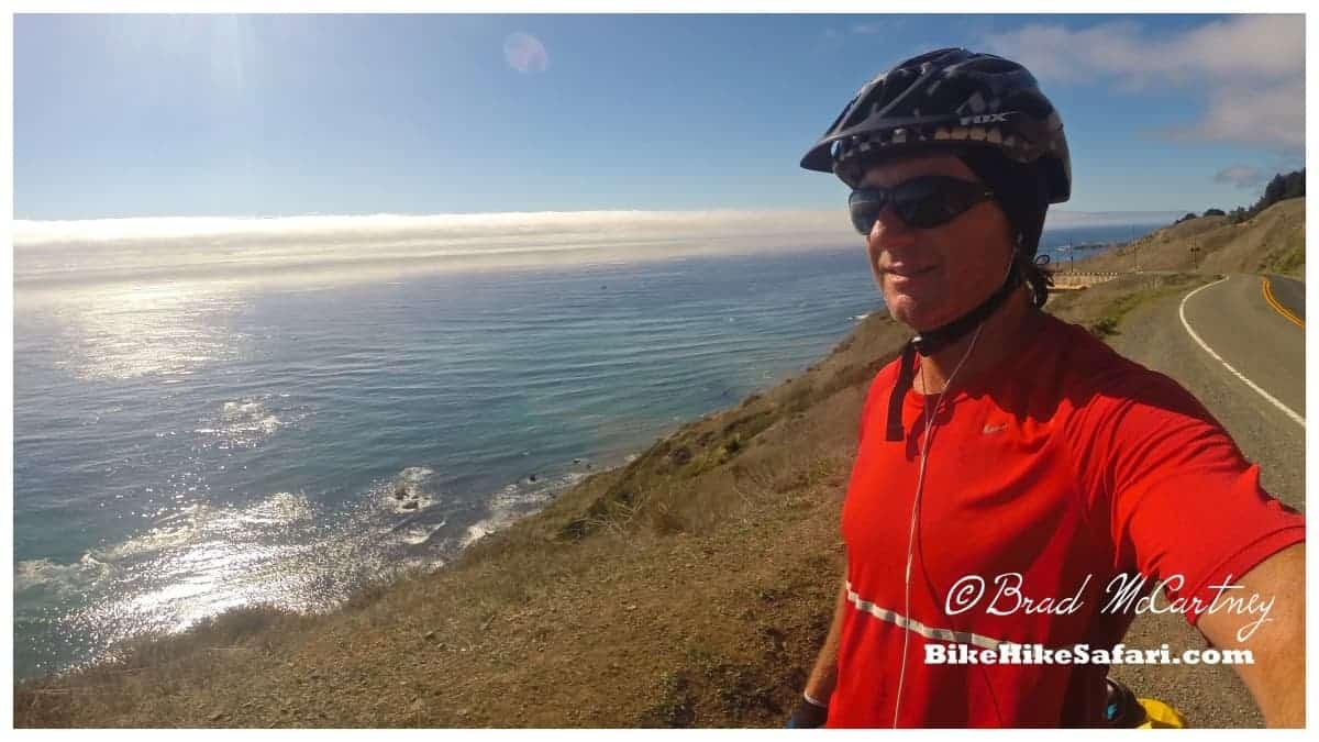 bicycle touring the california coast