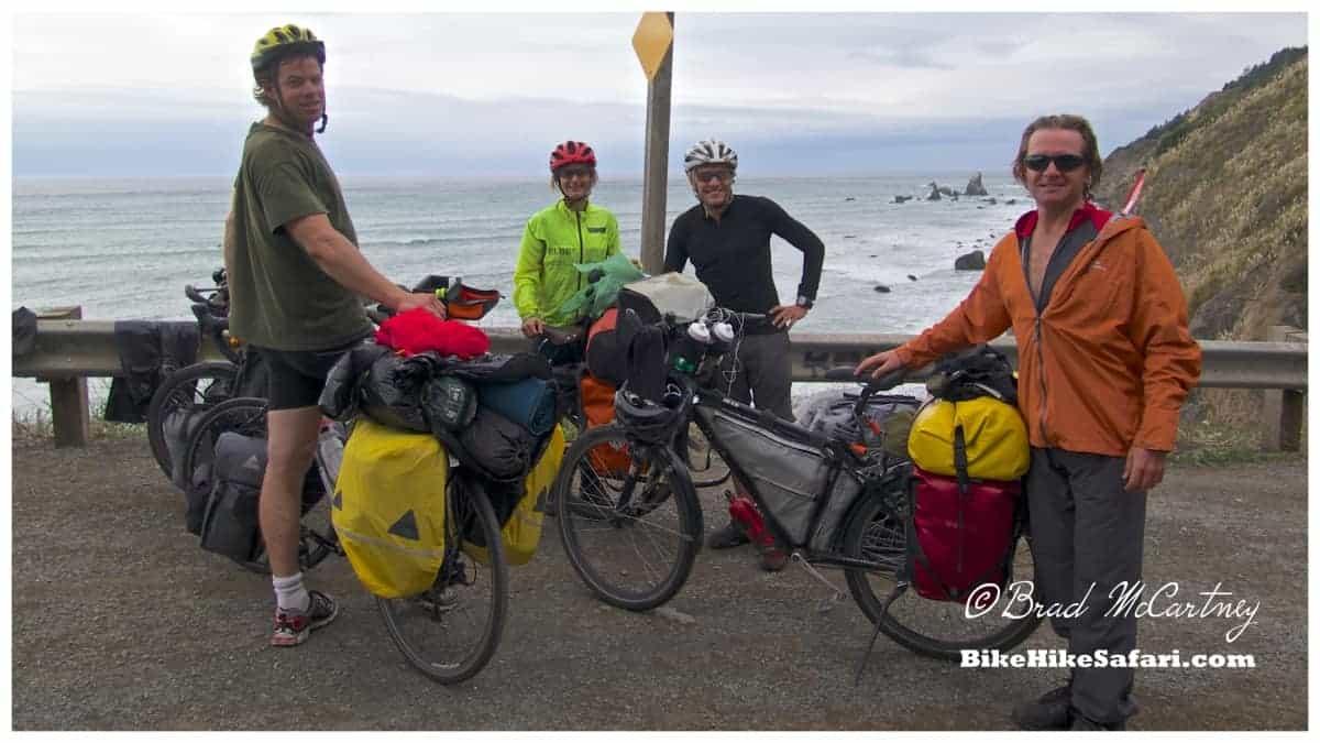 cycling the california coast