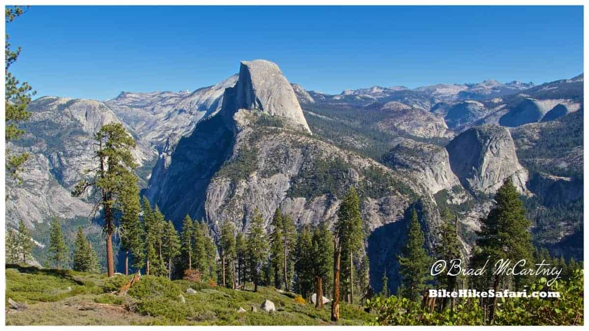 View of Half Dome from the Panorama Trail