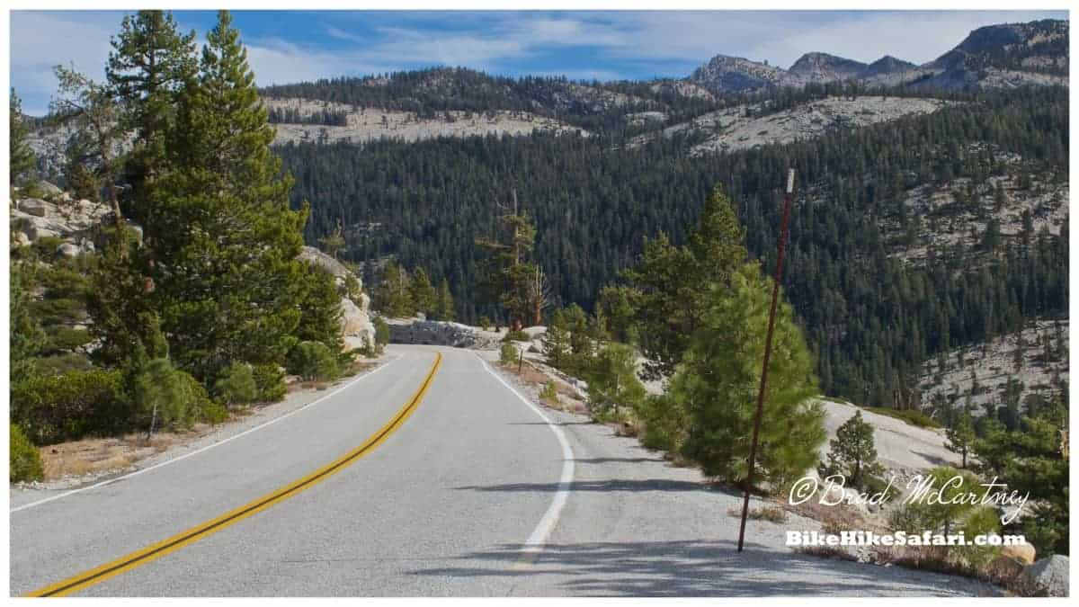 road to Tioga Pass