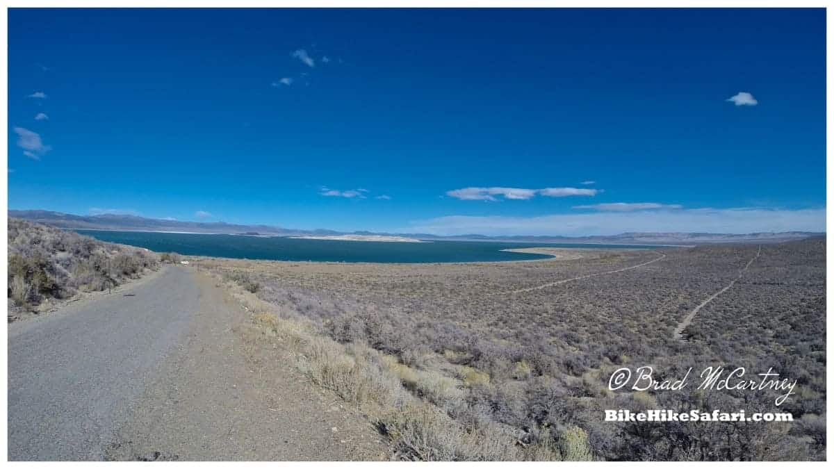 Approach to Mono Lake