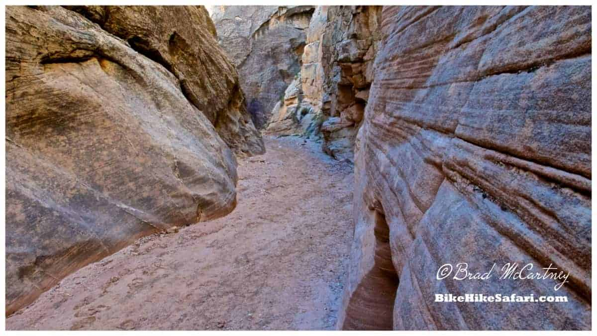 Cottonwood Narrows, slot Canyon, only 50 meters off the road, I didn't even know it was there