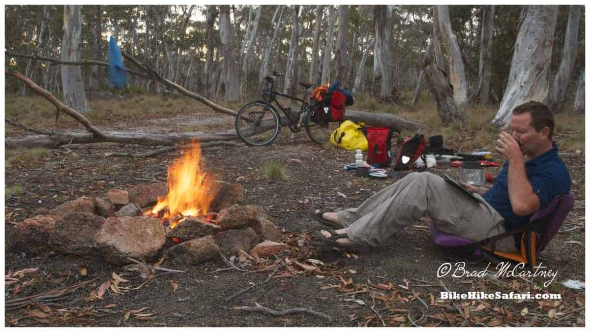 Thorn bikes camping in Australia