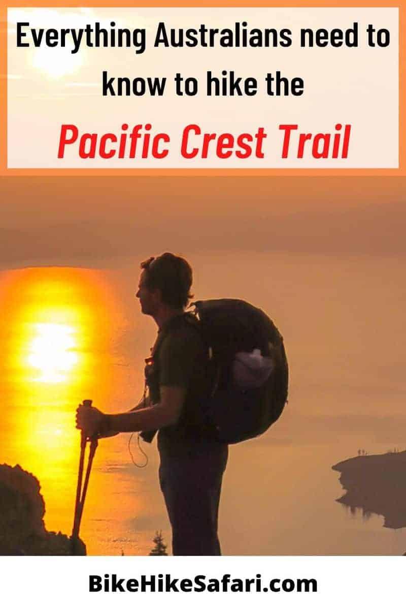 Australian pacific crest trail