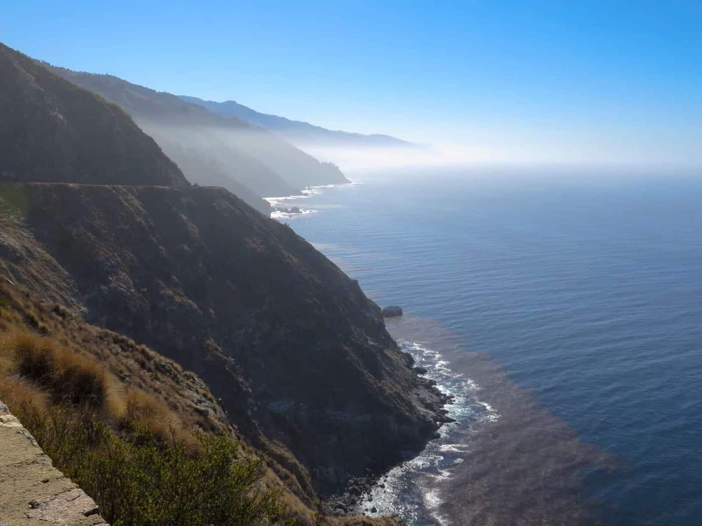 Big Sur coast Cycling