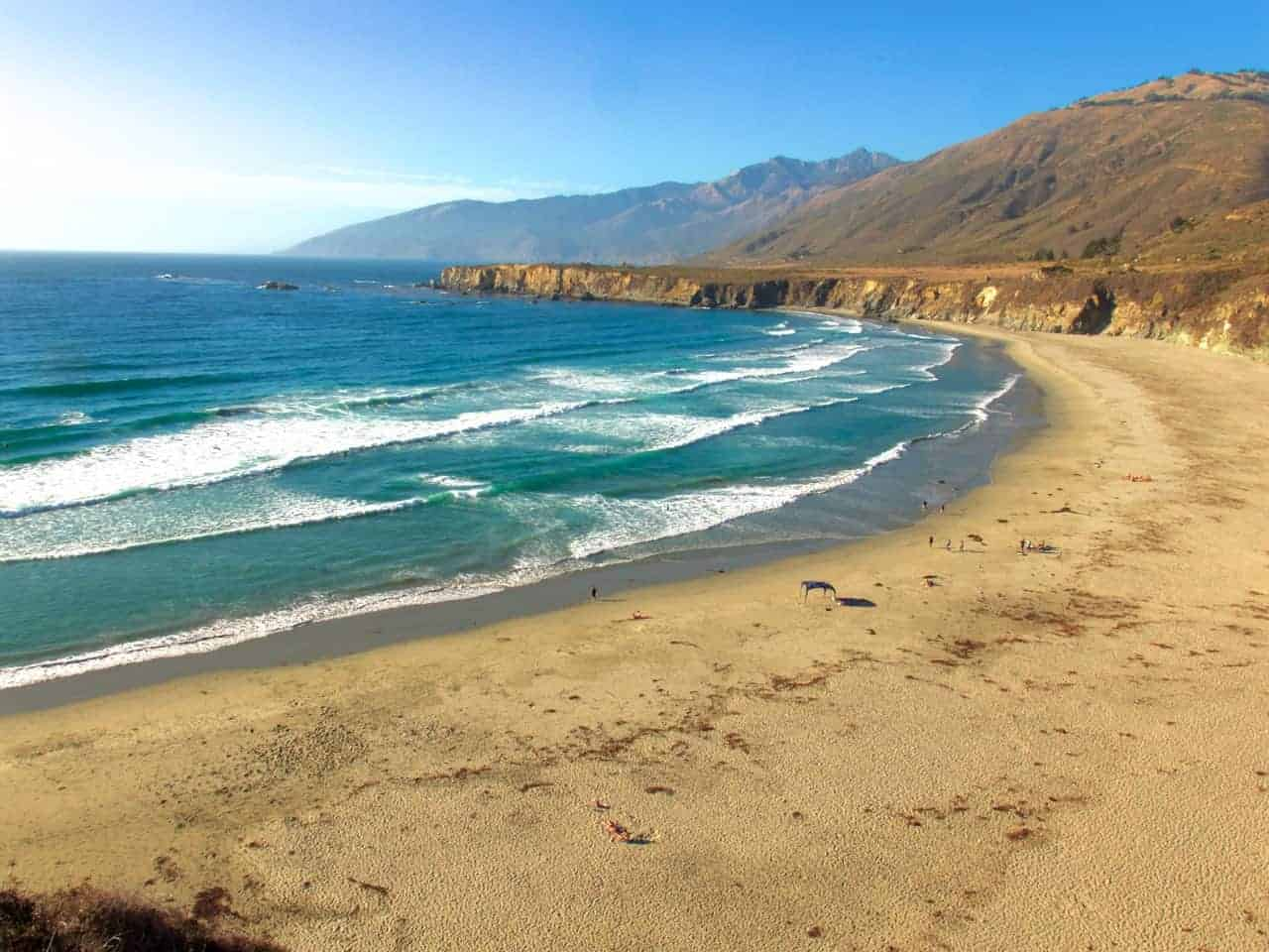 California Beach Big Sur Coast