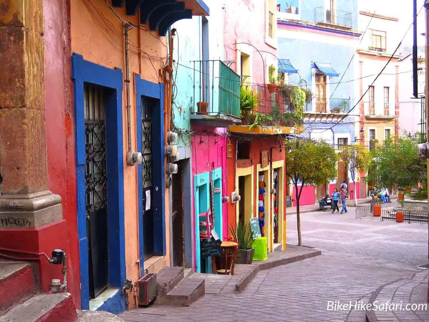 Backstreets of Guanajuato