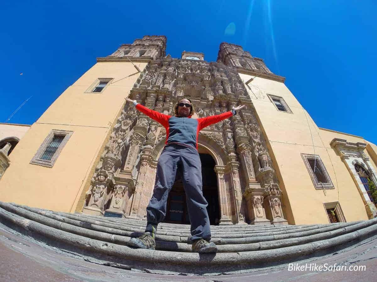 The church at Dolores Hidalgo