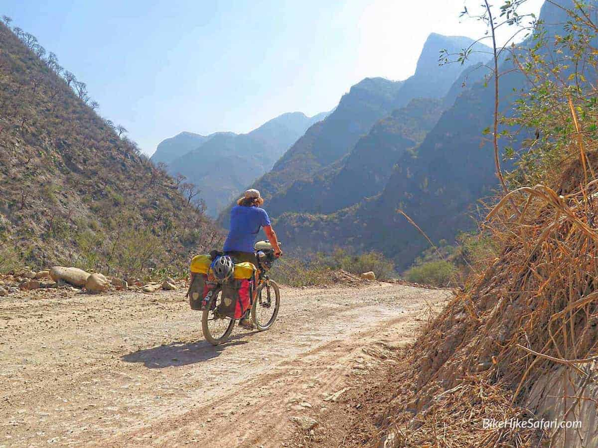 cycling the sierra gorda
