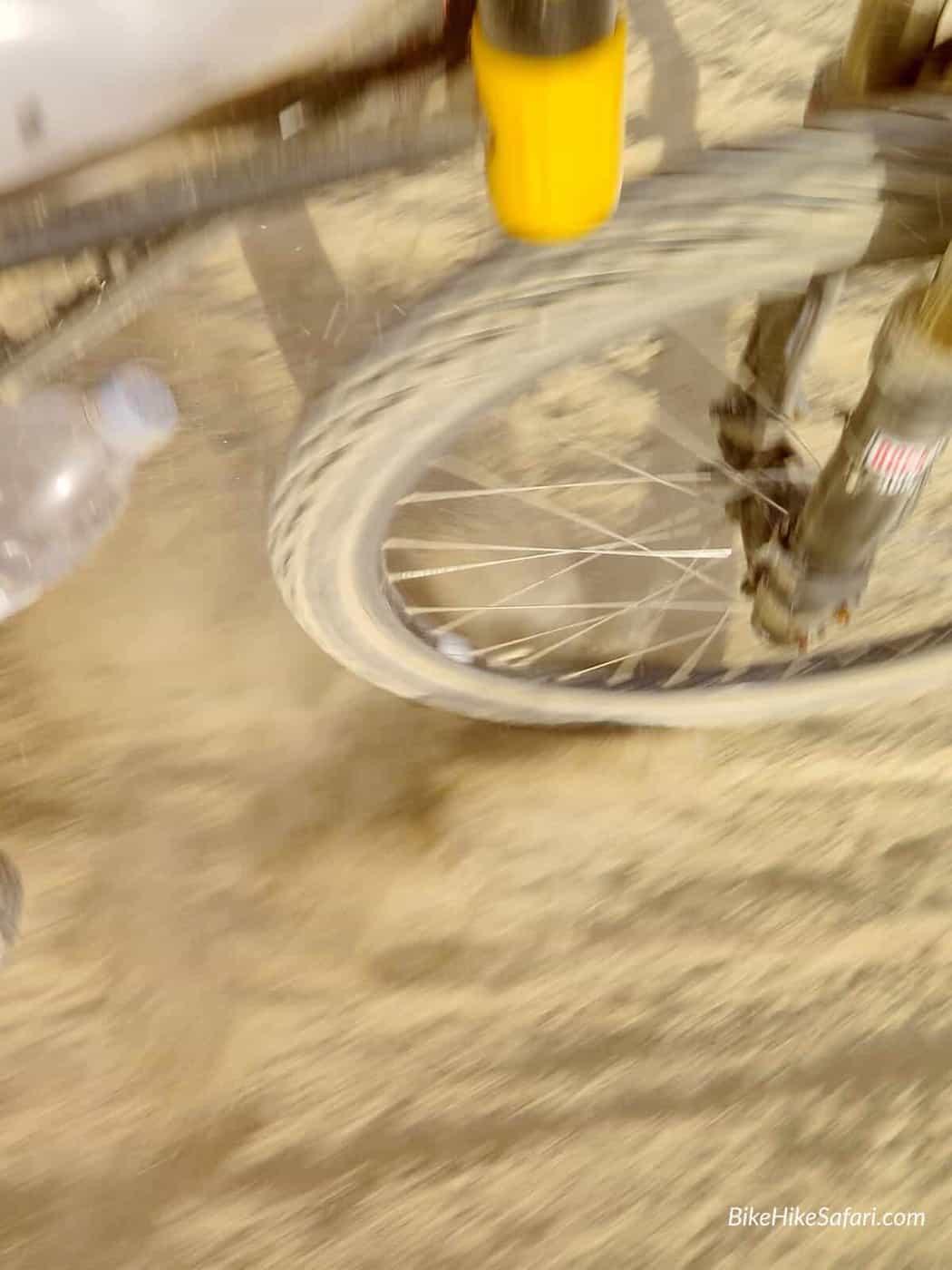 dusty road mountain bikes