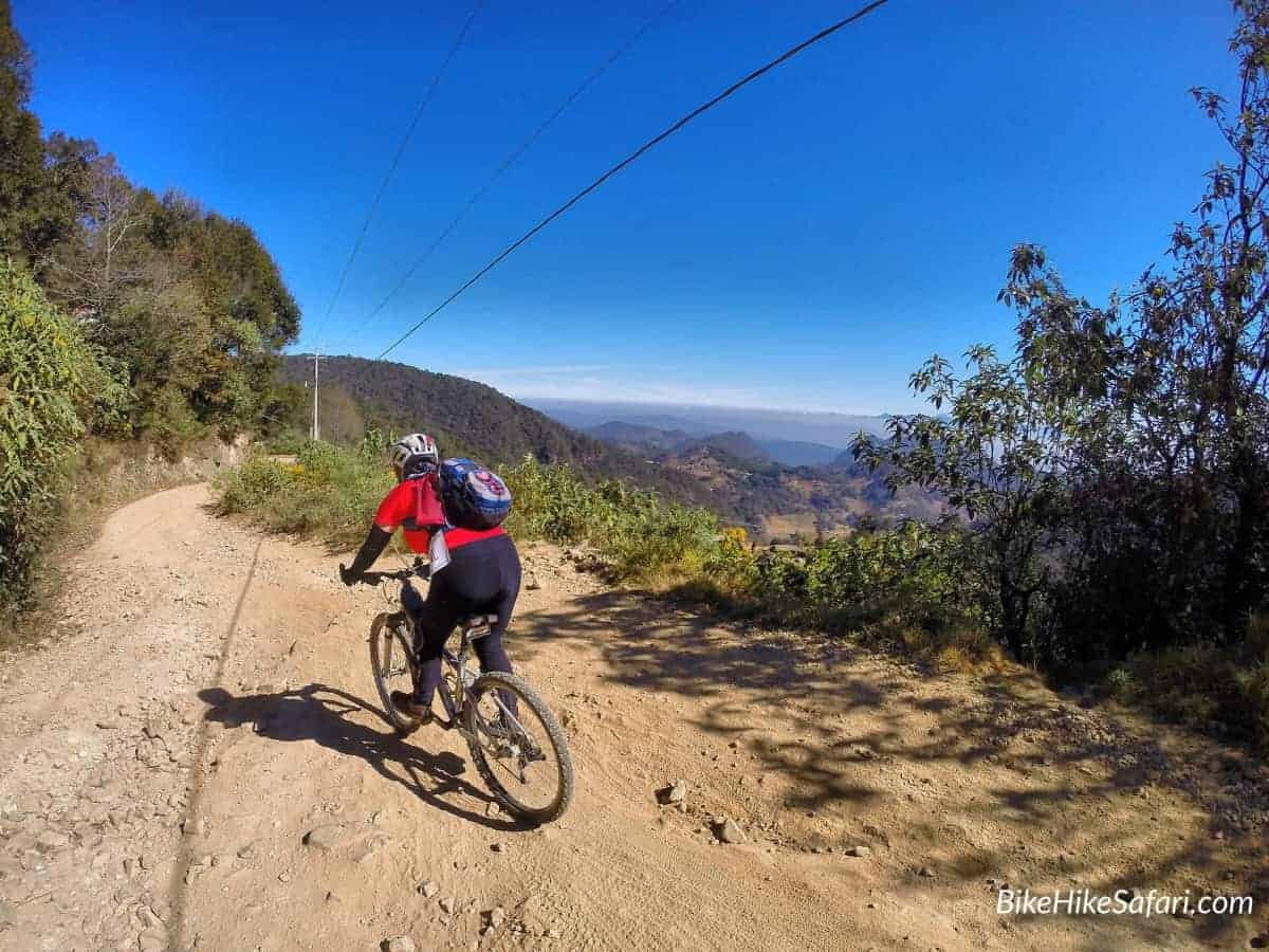 Mountain Biking Pinal to Jalpan