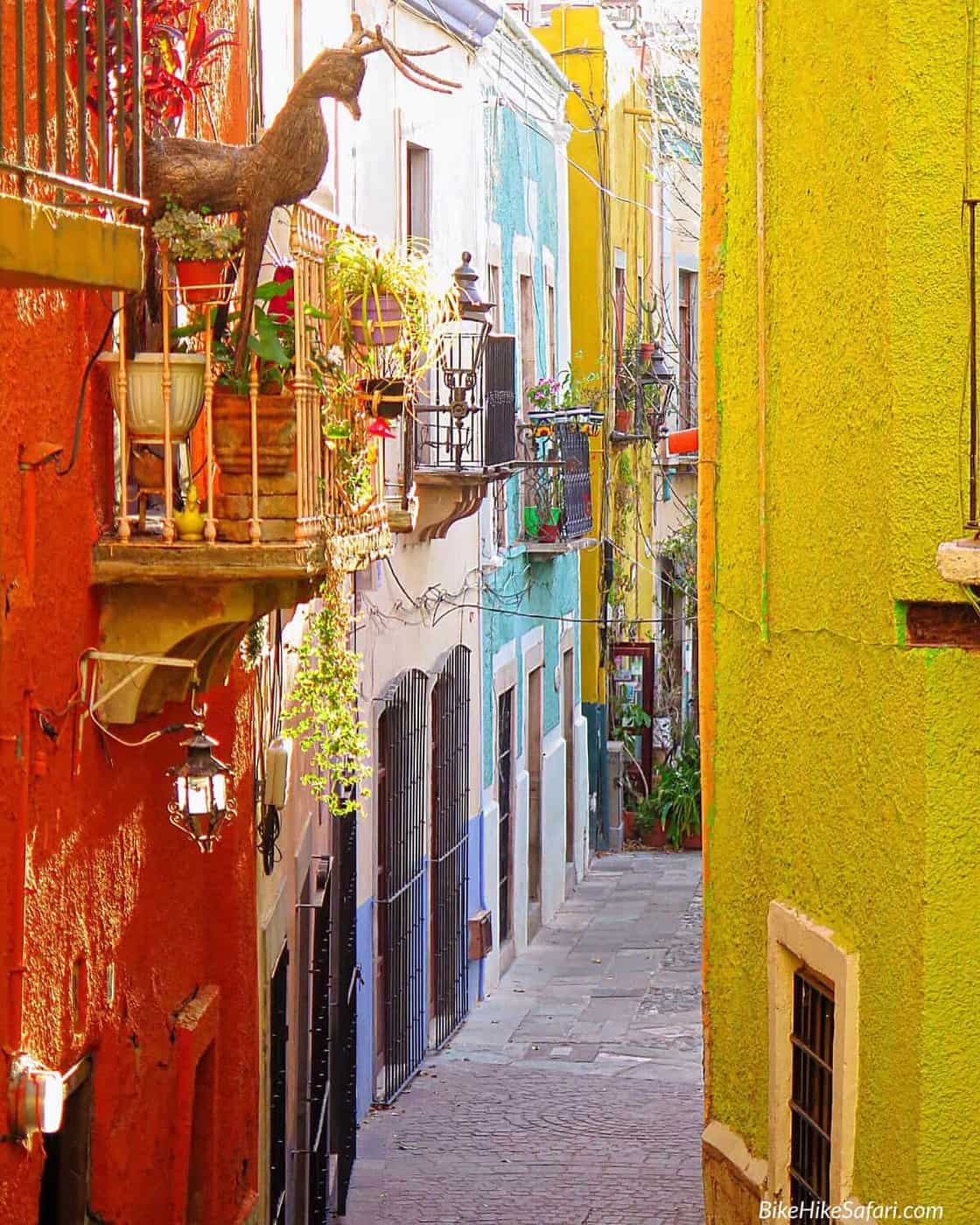 Colourful Backstreets of Guanajuato