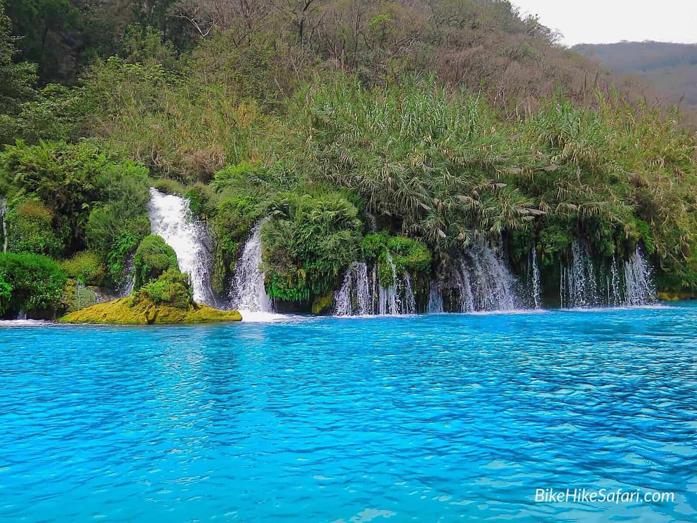 cascades near tamul falls