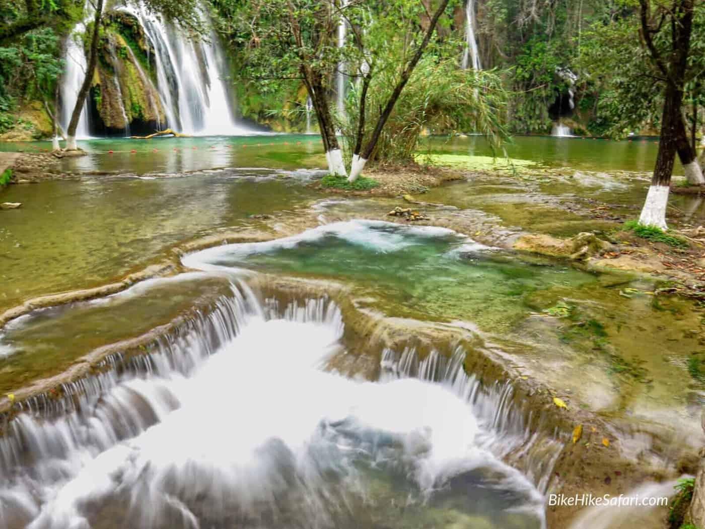 waterfalls of the huesteca