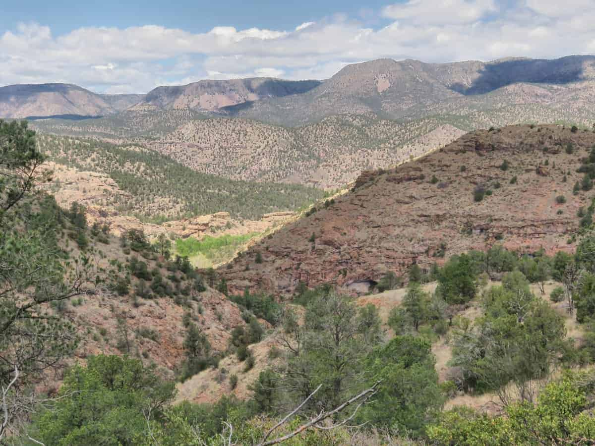 New Mexico hiking