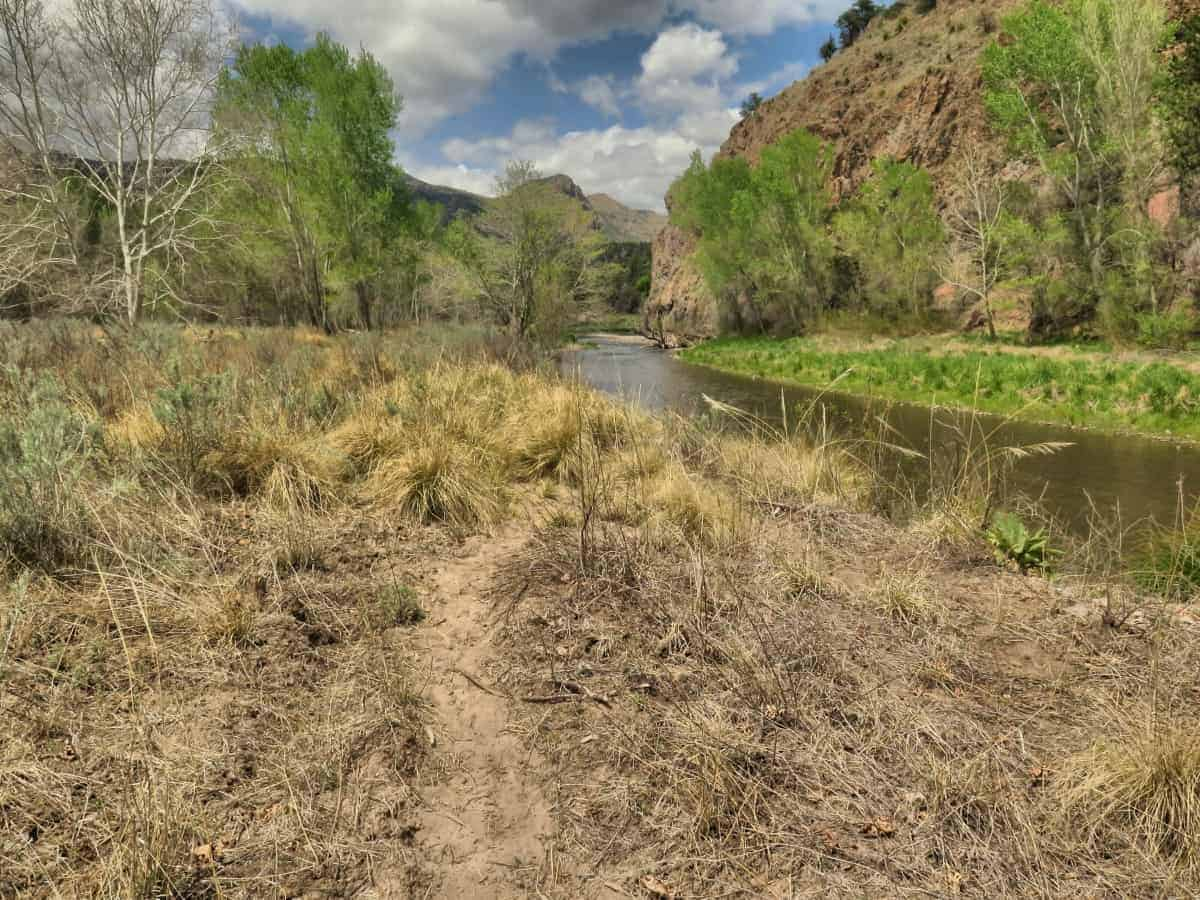 Gila River on the CDT