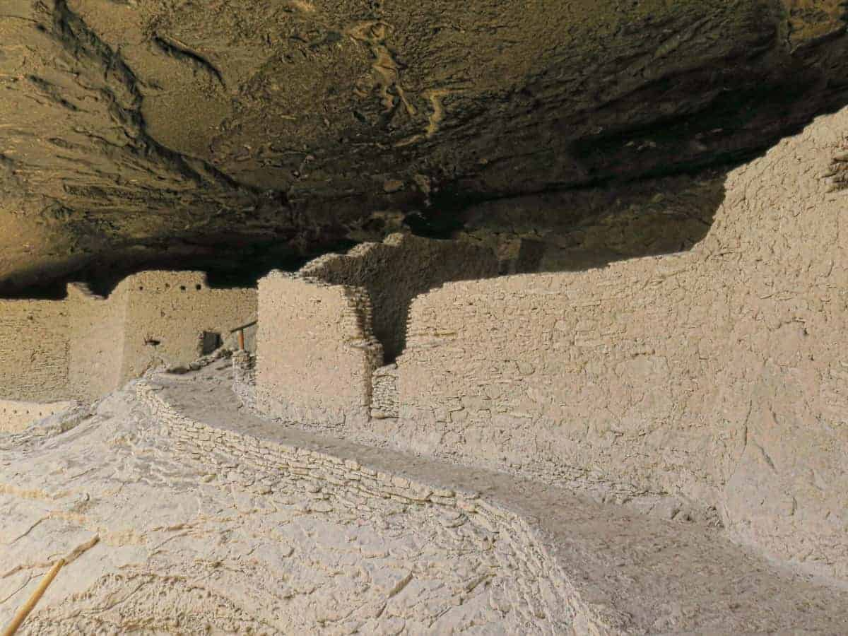 Gila Cliff Dwellings New Mexico near the CDT