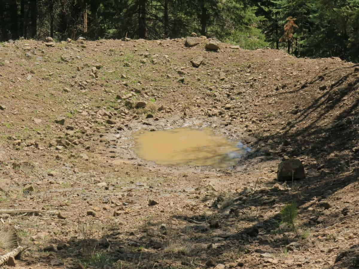 Poor water quality in New Mexico CDT