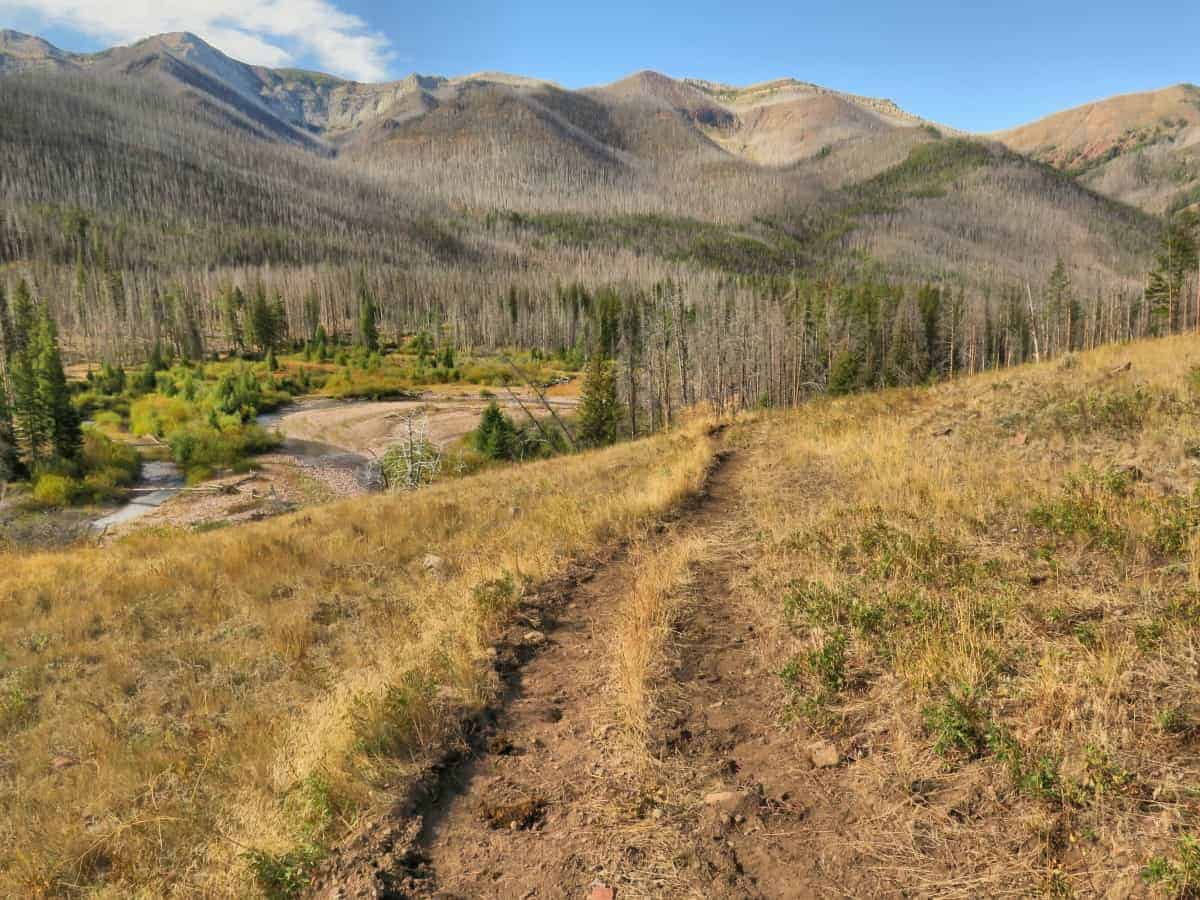 Hiking trails montana