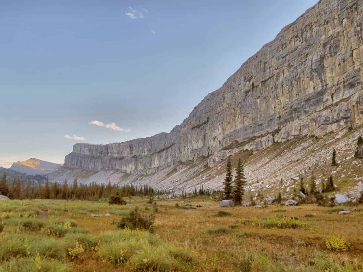 Chinese Wall Bob Marshall Wilderness Montana