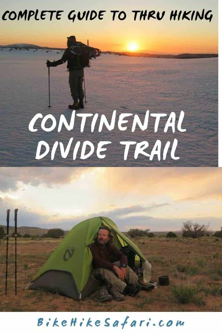 Continental Divide Trail thru hike 2
