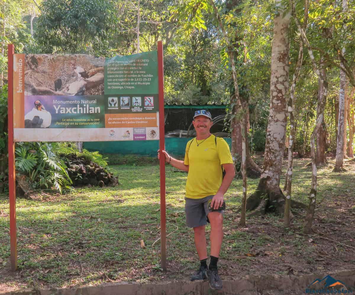 Monumento Natural Yaxchilan